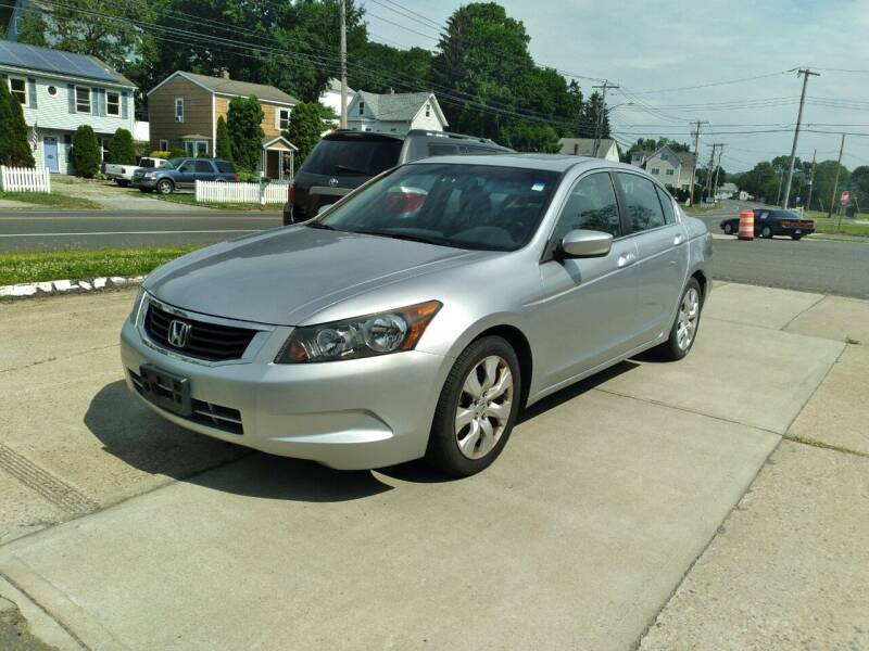 2008 Honda Accord for sale at Cammisa's Garage Inc in Shelton CT