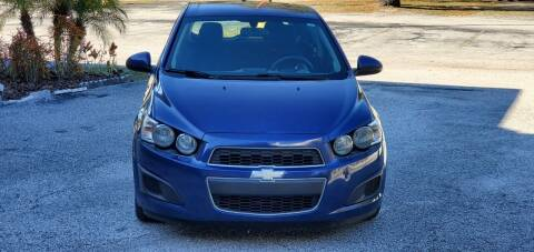 2014 Chevrolet Sonic for sale at Royal Auto Trading in Tampa FL