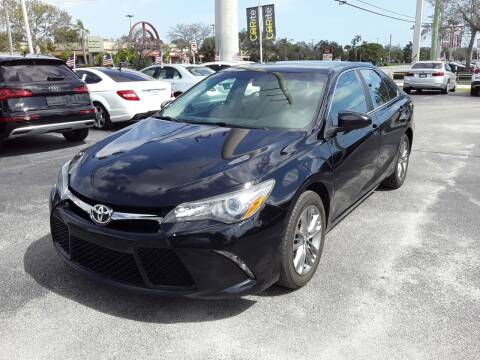 2017 Toyota Camry for sale at YOUR BEST DRIVE in Oakland Park FL