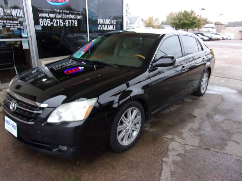2005 Toyota Avalon for sale at World Wide Automotive in Sioux Falls SD