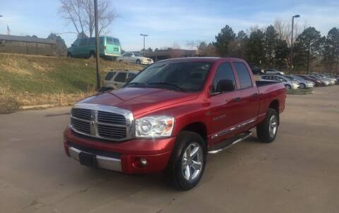2007 Dodge Ram Pickup 1500 for sale at QUEST MOTORS in Englewood CO