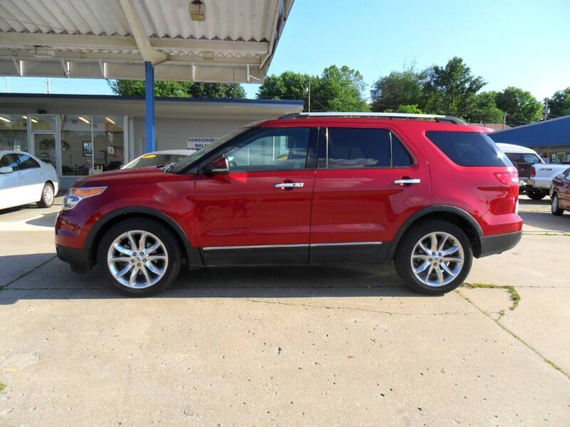 2013 Ford Explorer for sale at C MOORE CARS in Grove OK