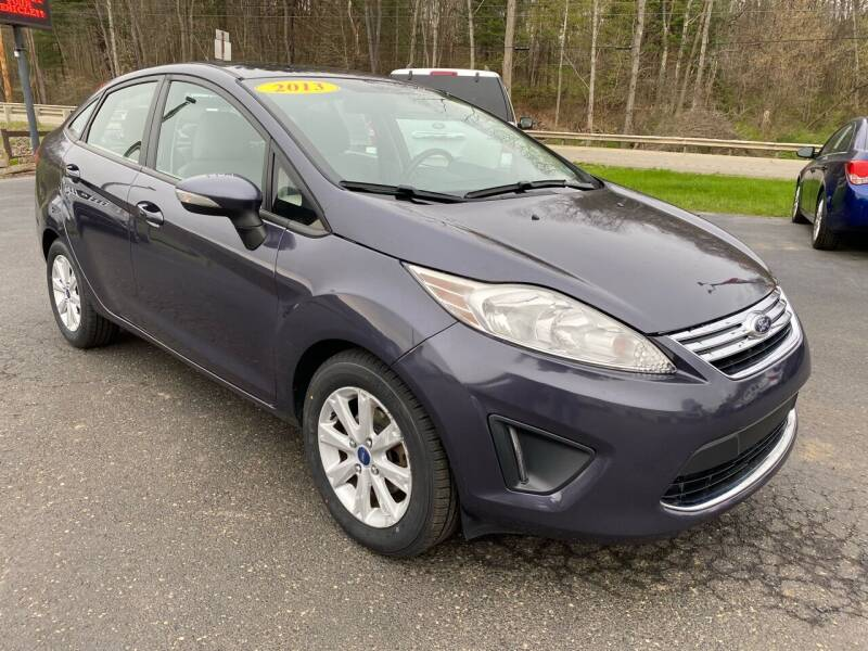 2013 Ford Fiesta for sale at Pine Grove Auto Sales LLC in Russell PA