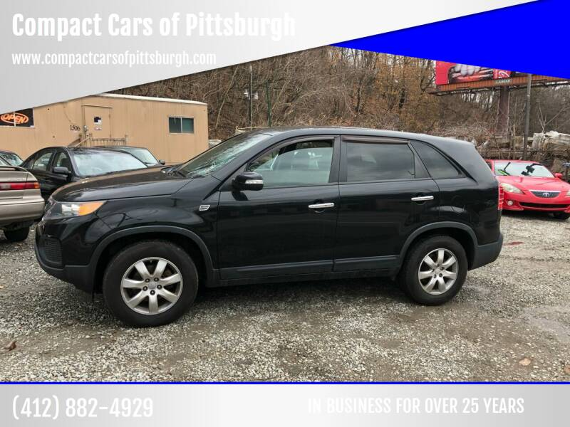 2011 Kia Sorento for sale at Compact Cars of Pittsburgh in Pittsburgh PA