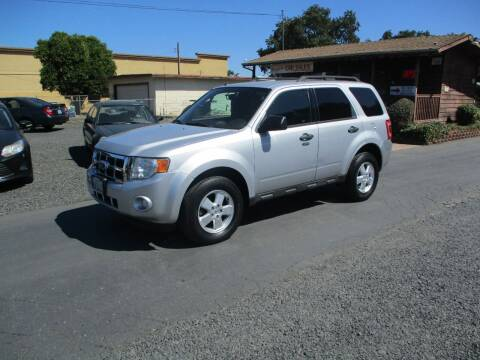 2011 Ford Escape for sale at Manzanita Car Sales in Gridley CA
