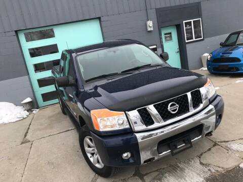 2012 Nissan Titan for sale at Enthusiast Autohaus in Sheridan IN