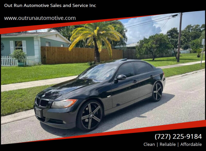 2007 BMW 3 Series for sale at Out Run Automotive Sales and Service Inc in Tampa FL