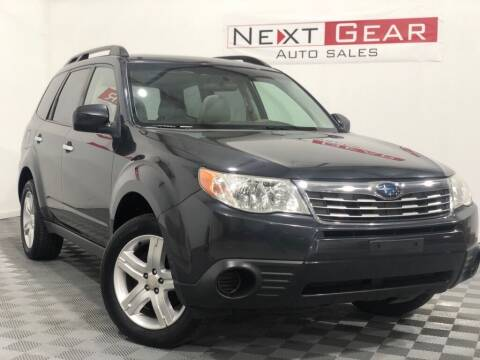 2010 Subaru Forester for sale at Next Gear Auto Sales in Westfield IN