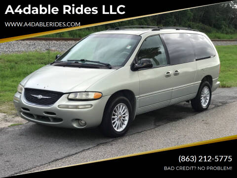 1999 Chrysler Town and Country for sale at A4dable Rides LLC in Haines City FL