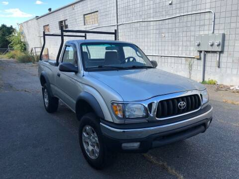 2002 Toyota Tacoma for sale at New England Motor Cars in Springfield MA