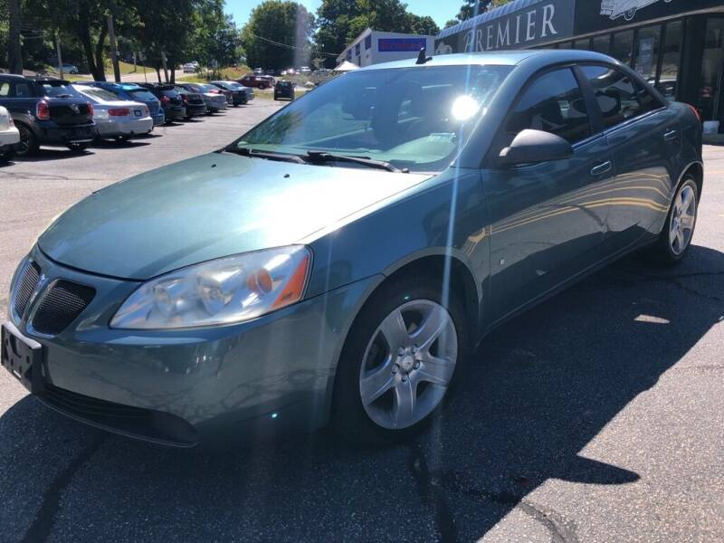 2009 Pontiac G6 for sale at Premier Automart in Milford MA