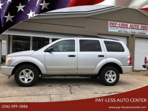 2004 Dodge Durango for sale at Pay-Less Auto Center in Roxboro NC