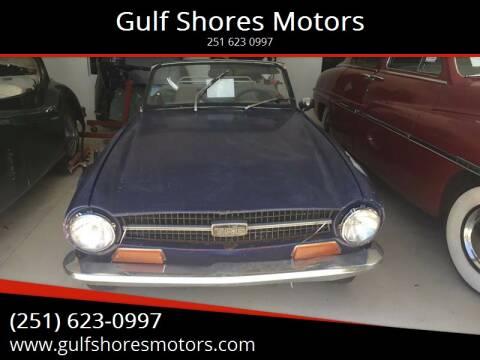 1971 Triumph TR6 for sale at Gulf Shores Motors in Gulf Shores AL