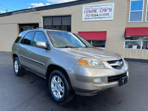 2005 Acura MDX for sale at I-Deal Cars LLC in York PA