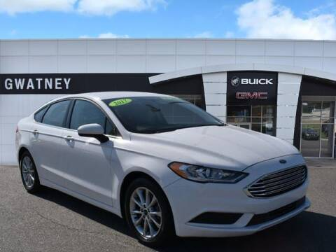 2017 Ford Fusion for sale at DeAndre Sells Cars in North Little Rock AR