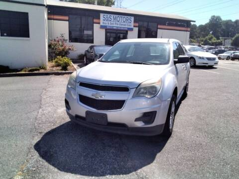2011 Chevrolet Equinox for sale at S & S Motors in Marietta GA