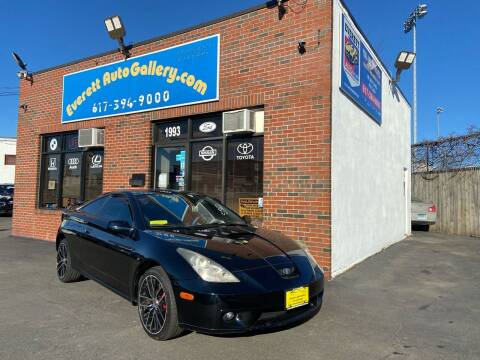 2002 Toyota Celica for sale at Everett Auto Gallery in Everett MA