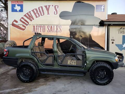 2002 Jeep Grand Cherokee for sale at Cowboy's Auto Sales in San Antonio TX