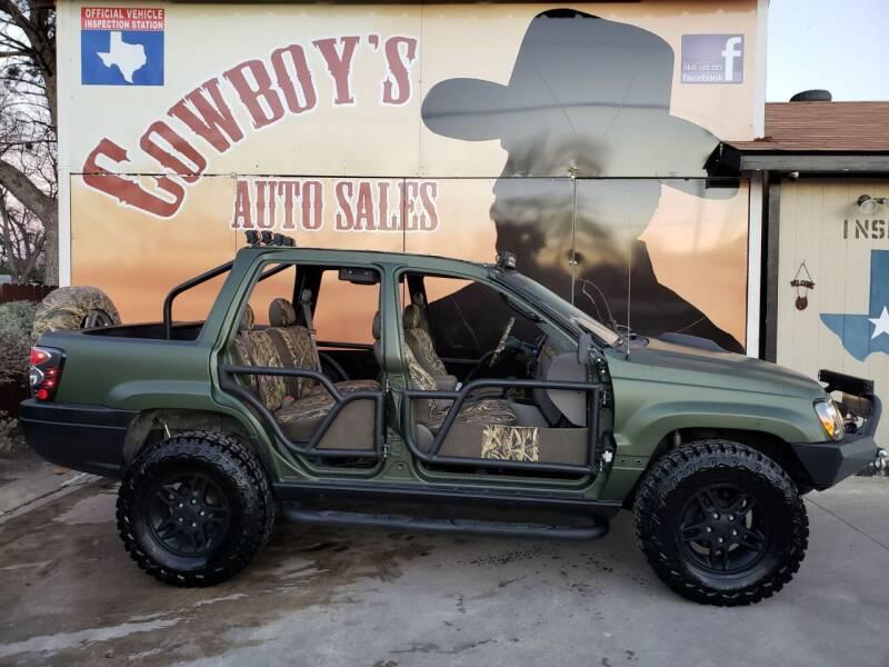 2002 Jeep Grand Cherokee for sale at Cowboy's Auto Sales in San Antonio TX