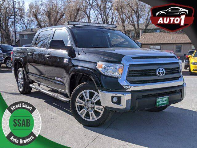 2014 Toyota Tundra for sale at Street Smart Auto Brokers in Colorado Springs CO