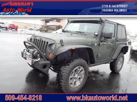 2008 Jeep Wrangler for sale at Bruce Kirkham Auto World in Yakima WA