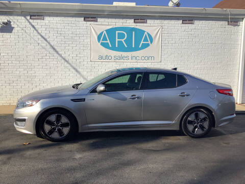 2013 Kia Optima Hybrid for sale at ARIA  AUTO  SALES in Raleigh NC