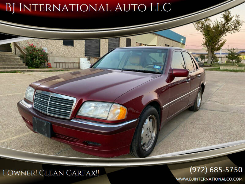 1999 Mercedes-Benz C-Class for sale at BJ International Auto LLC in Dallas TX