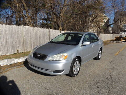 2005 Toyota Corolla for sale at Wayland Automotive in Wayland MA