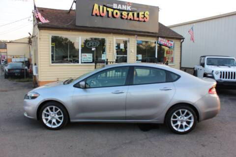 2016 Dodge Dart for sale at BANK AUTO SALES in Wayne MI