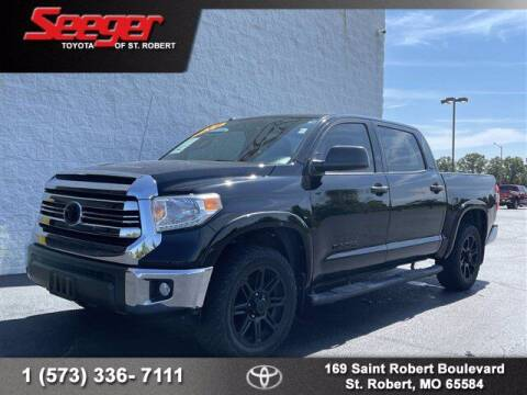 2017 Toyota Tundra for sale at SEEGER TOYOTA OF ST ROBERT in Saint Robert MO
