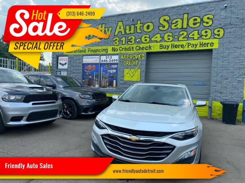 2020 Chevrolet Malibu for sale at Friendly Auto Sales in Detroit MI