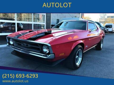 1972 Ford Mustang for sale at AUTOLOT in Bristol PA