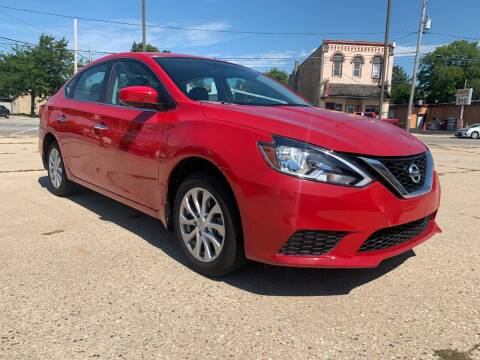 2019 Nissan Sentra for sale at Auto Gallery LLC in Burlington WI