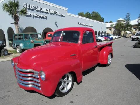 1953 Chevrolet 3100 for sale at Gulf Shores Motors in Gulf Shores AL