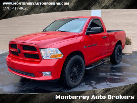 2012 RAM Ram Pickup 1500 for sale at Monterrey Auto Brokers in Decatur GA
