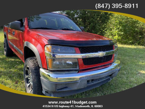 2007 Chevrolet Colorado for sale at Route 41 Budget Auto in Wadsworth IL