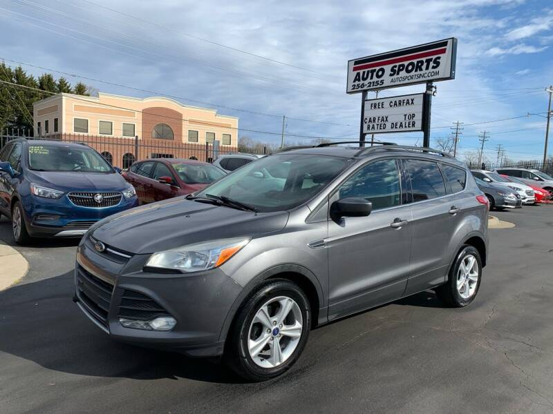 2013 Ford Escape for sale at Auto Sports in Hickory NC