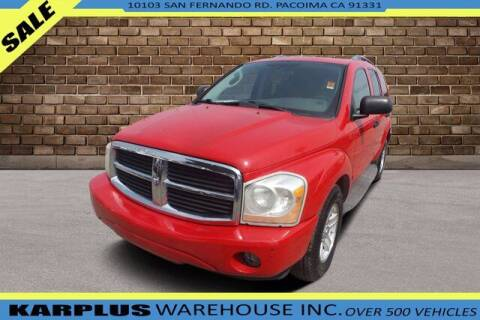 2005 Dodge Durango for sale at Karplus Warehouse in Pacoima CA