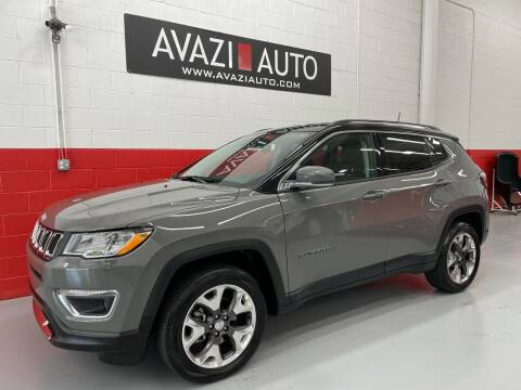 2019 Jeep Compass for sale at AVAZI AUTO GROUP LLC in Gaithersburg MD
