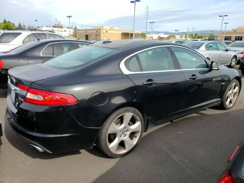 2009 Jaguar XF for sale at MCHENRY AUTO SALES in Modesto CA