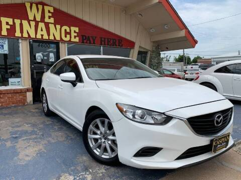 2017 Mazda MAZDA6 for sale at Caspian Auto Sales in Oklahoma City OK