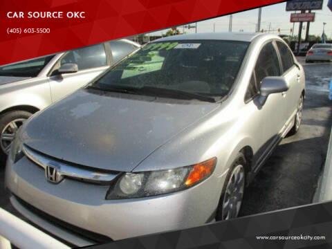 2007 Honda Civic for sale at Car One - CAR SOURCE OKC in Oklahoma City OK