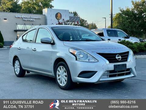 2019 Nissan Versa for sale at Ole Ben Franklin Motors Clinton Highway in Knoxville TN