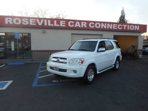 2007 Toyota Sequoia for sale at ROSEVILLE CAR CONNECTION in Roseville CA
