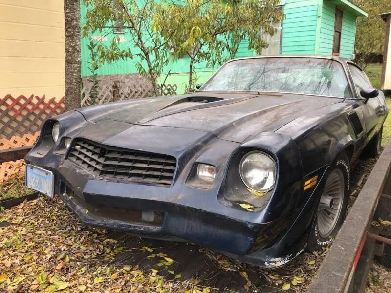 1979 Chevrolet Camaro for sale at Mafia Motors in Boerne TX