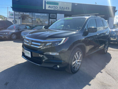 2016 Honda Pilot for sale at Wakefield Auto Sales of Main Street Inc. in Wakefield MA