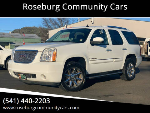 2008 GMC Yukon for sale at Roseburg Community Cars in Roseburg OR