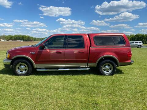 2002 Ford F-150 for sale at Wendell Greene Motors Inc in Hamilton OH