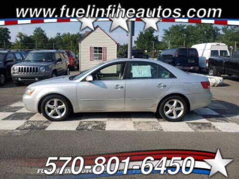 2006 Hyundai Sonata for sale at FUELIN FINE AUTO SALES INC in Saylorsburg PA