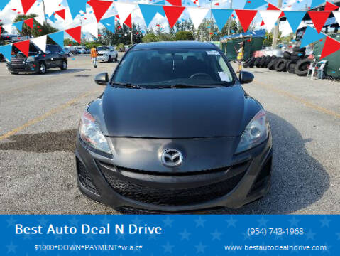 2011 Mazda MAZDA3 for sale at Best Auto Deal N Drive in Hollywood FL